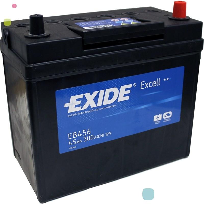 Аккумулятор Exide Excell EB456