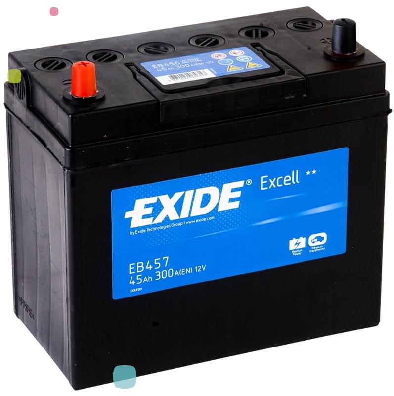 Аккумулятор Exide Excell EB457