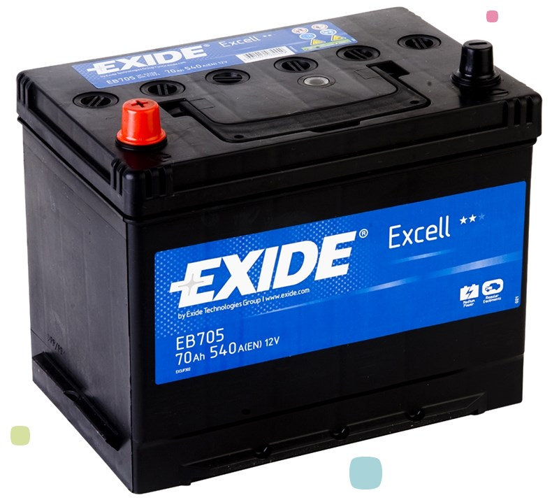 Аккумулятор Exide Excell EB705