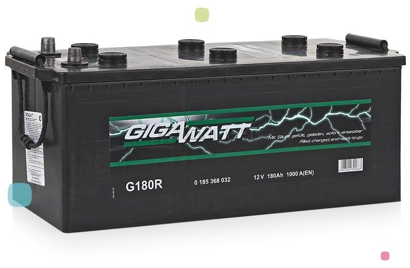 Аккумулятор GigaWatt 180Ah (680 032 100)
