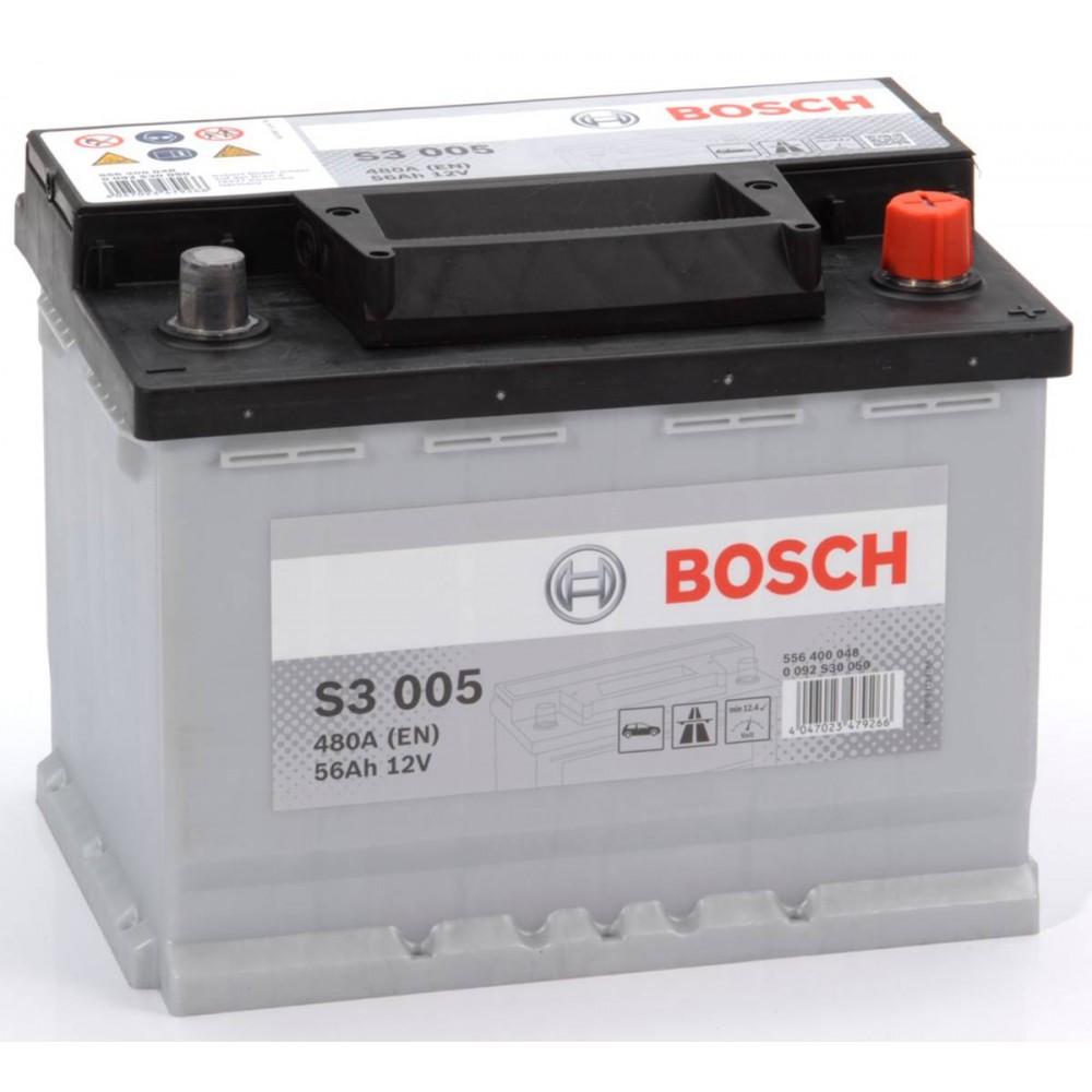 Аккумулятор Bosch 56AH  S3 005 (0 092 S30 050)