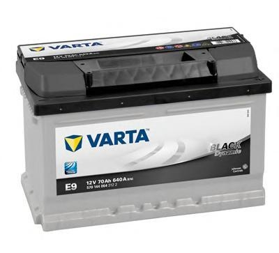 Аккумулятор Varta Black Dynamic 70AH  E9 (570 144 064)
