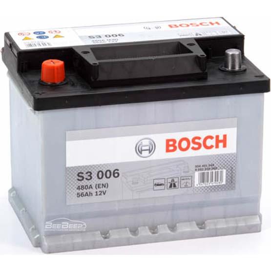 Аккумулятор Bosch 56AH  S3 006 (0 092 S30 060)