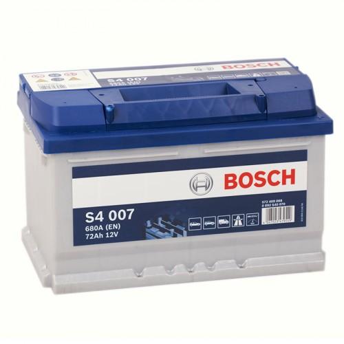 Аккумулятор Bosch Silver 72AH S4 007 (0 092 S40 070)