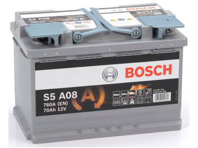 Аккумулятор Bosch 70AH AGM S5 A08 (S6 008)  (0 092 S60 080)