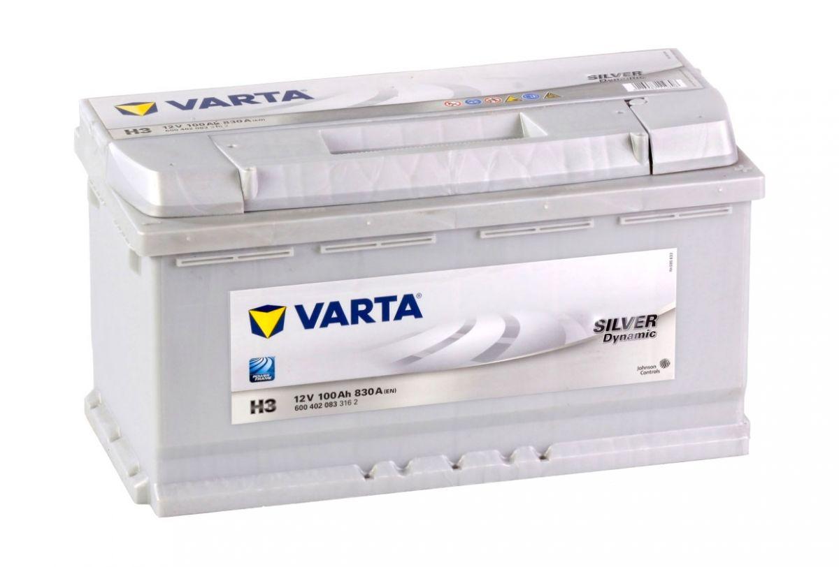 Аккумулятор Varta Silver Dynamic 100AH H3 (600 402 083)