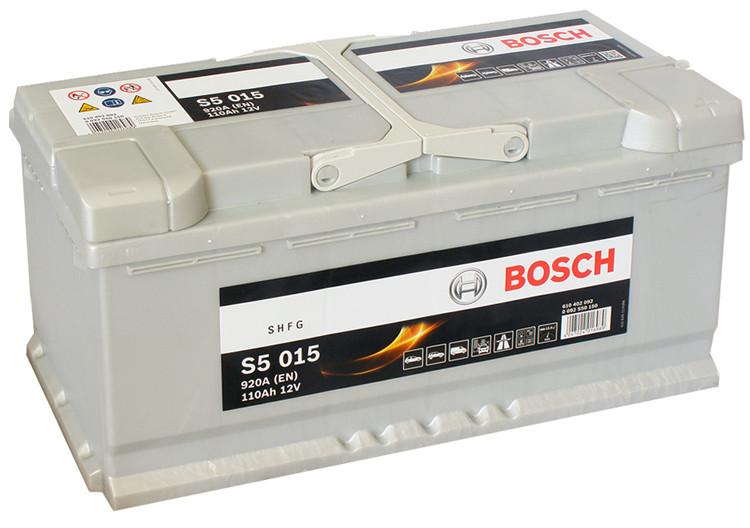 Аккумулятор Bosch Silver Plus 110AH  S5 015 (0 092 S50 150)