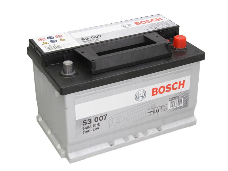 Аккумулятор Bosch  70AH S3 007 (0 092 S30 070)