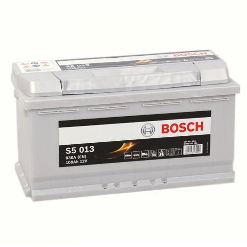 Аккумулятор Bosch Silver Plus 100AH  S5 013 (0 092 S50 130)