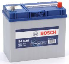 Аккумулятор Bosch Silver 45AH S4 020 (0 092 S40 200)