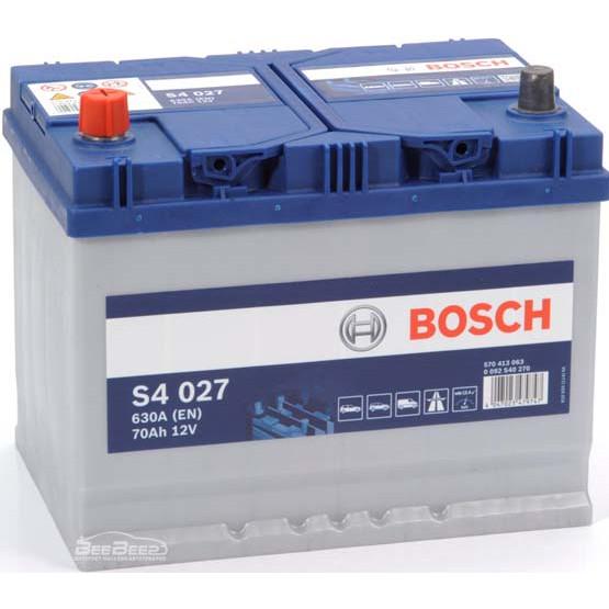 Аккумулятор Bosch Silver 70AH S4 027 (0 092 S40 270)
