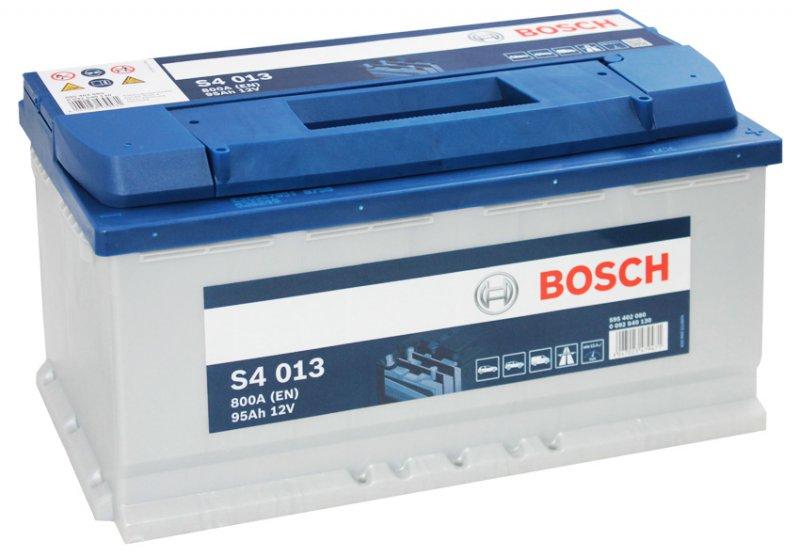 Аккумулятор Bosch Silver 95AH  S4 013 (0 092 S40 130)