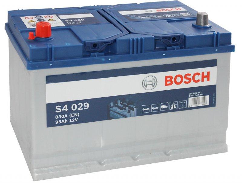 Аккумулятор Bosch Silver  95AH S4 029 (0 092 S40 290)
