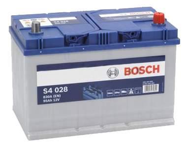 Аккумулятор Bosch Silver 95AH  S4 028 (0 092 S40 280)