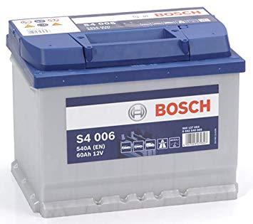 Аккумулятор Bosch Silver 60AH S4 006 (0 092 S40 060)