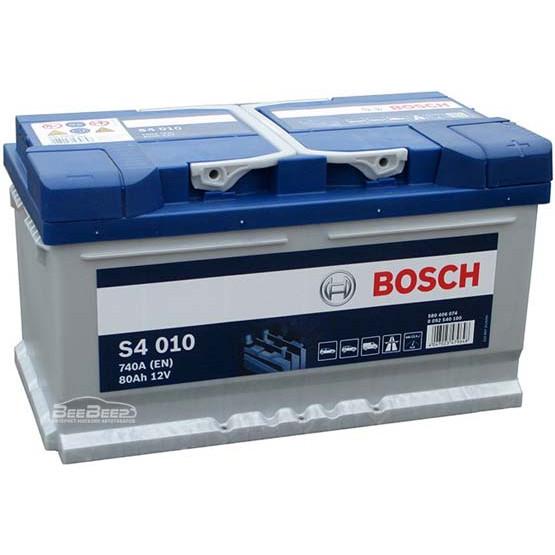 Аккумулятор Bosch Silver 80AH S4 010 (0 092 S40 100)