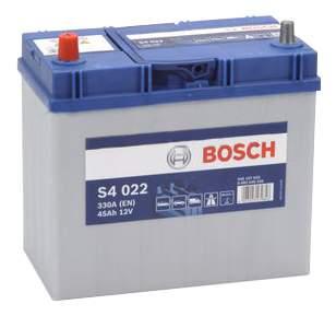 Аккумулятор Bosch Silver 45AH S4 022 (0 092 S40 220)