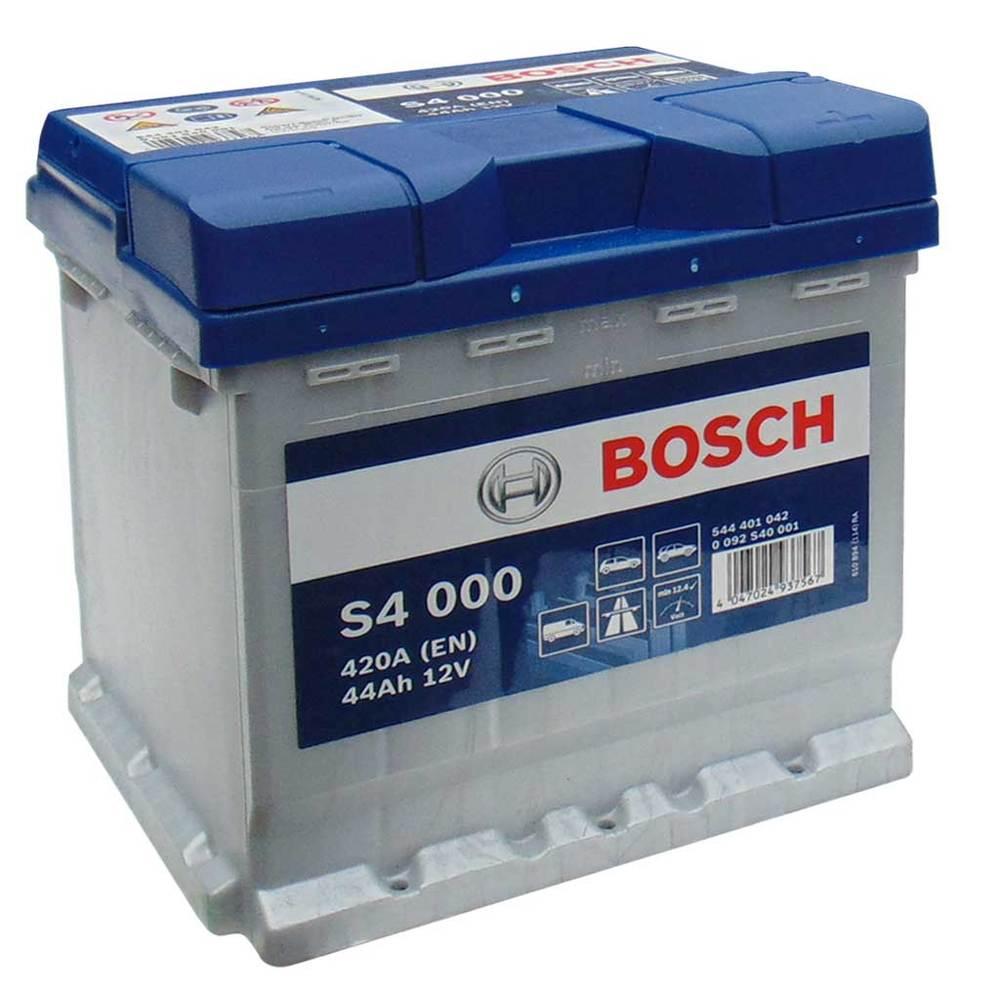 Аккумулятор Bosch Silver 44AH  S4 000 (0 092 S40 001)