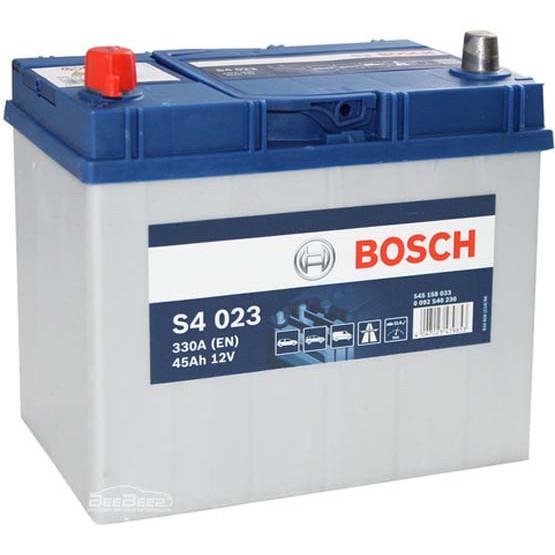 Аккумулятор Bosch Silver 45AH S4 023 (0 092 S40 230)