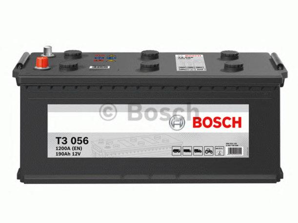 Аккумулятор Bosch 190AH T3 056 (0 092 T30 560)
