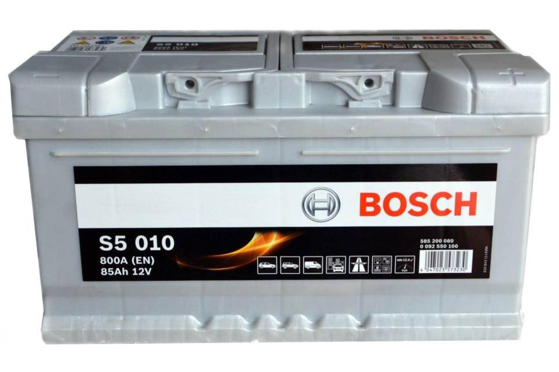 Аккумулятор Bosch Silver Plus S5 010 (0 092 S50 100)
