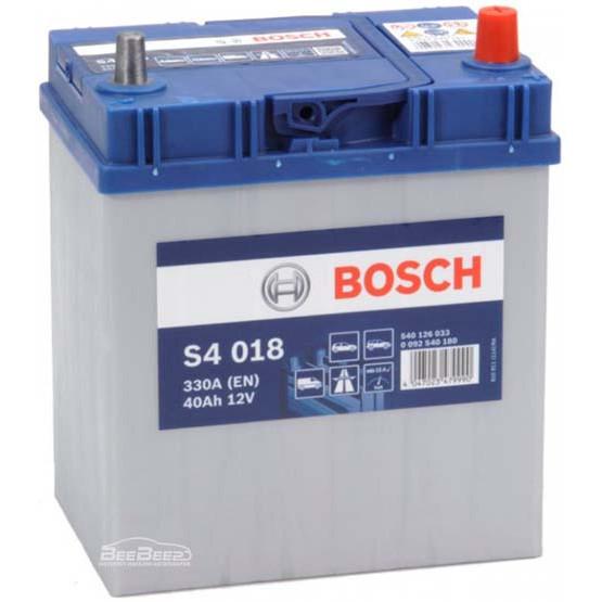 Аккумулятор Bosch Silver  40AH S4 018 (0 092 S40 180)