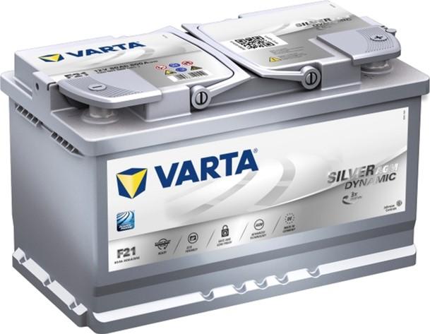 Аккумулятор Varta Silver Dynamic AGM 80AH F21 (580 901 080)
