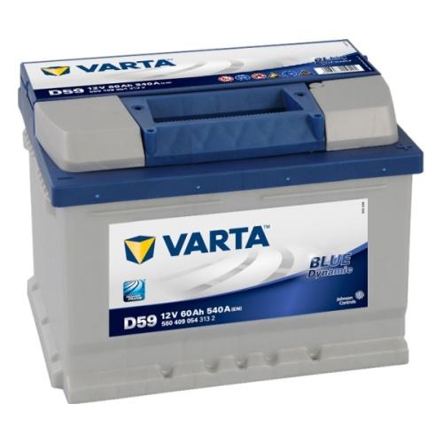 Аккумулятор Varta Blue Dynamic  60AH D59 (560 409 054)