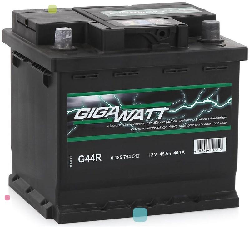 Аккумулятор GigaWatt 45Ah (545 412 040)