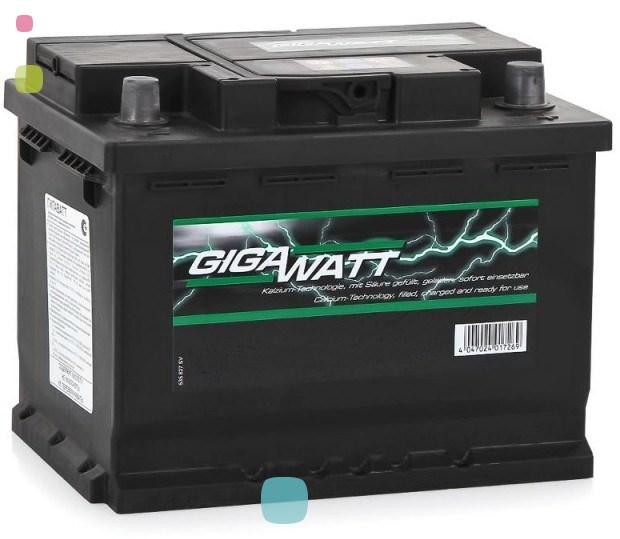 Аккумулятор GigaWatt 53Ah (553 400 047)