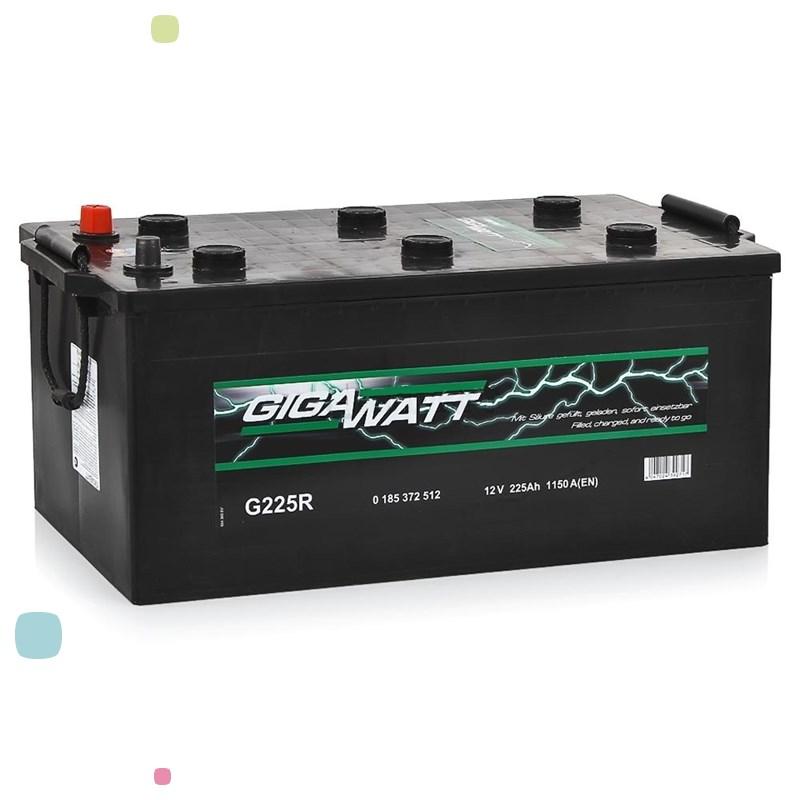 Аккумулятор GigaWatt 225Ah (725 012 115)