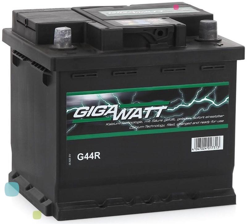 Аккумулятор GigaWatt 44Ah (544 402 044)