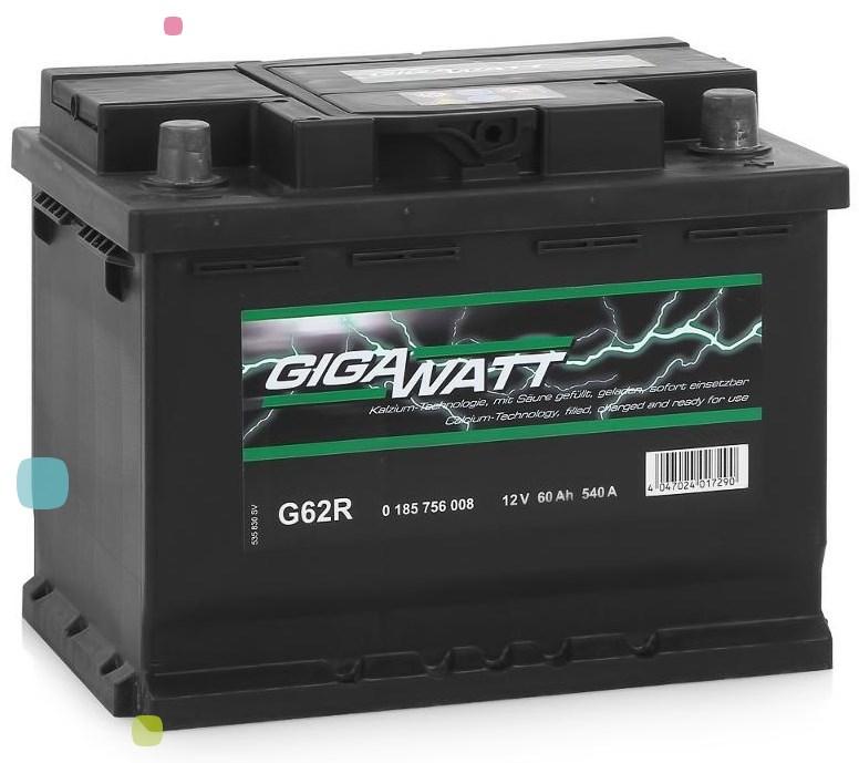 Аккумулятор GigaWatt 60Ah (560 127 054)
