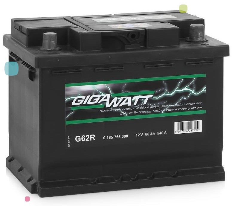 Аккумулятор GigaWatt 60Ah (560 409 054)