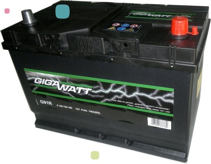 Аккумулятор GigaWatt 91Ah (591 400 074)