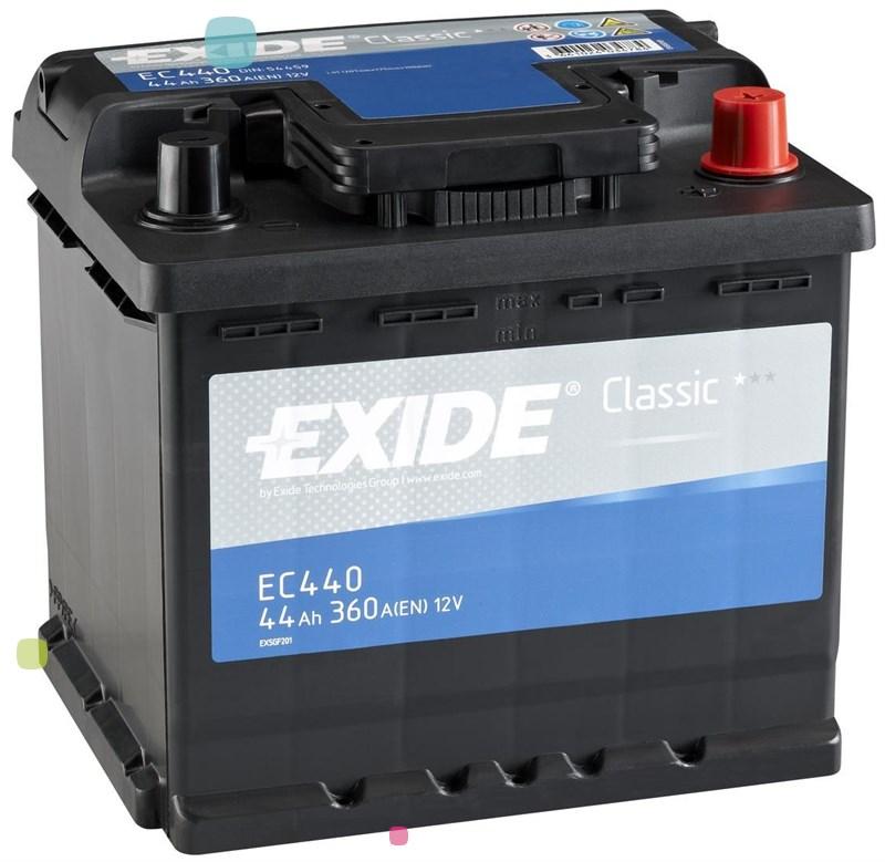 Аккумулятор Exide Classic EC440