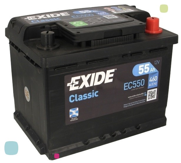Аккумулятор Exide Classic EC550