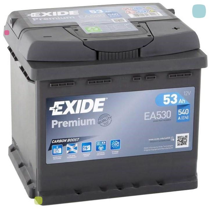 Аккумулятор Exide Premium EA530