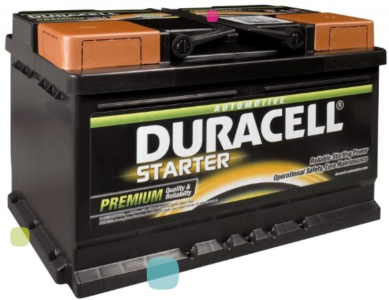 Аккумулятор Duracell DS 60 (010 560 09 0801)
