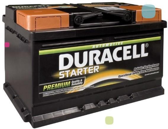 Аккумулятор Duracell DS 62 (010 562 19 0801)