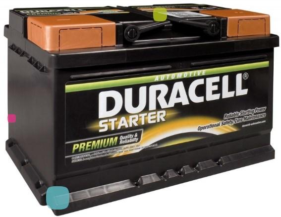 Аккумулятор Duracell DS 70 (010 570 44 0801)