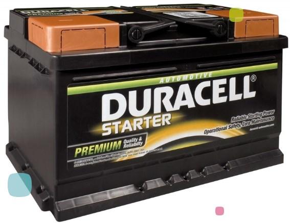 Аккумулятор Duracell DS 72L (010 572 33 0801)