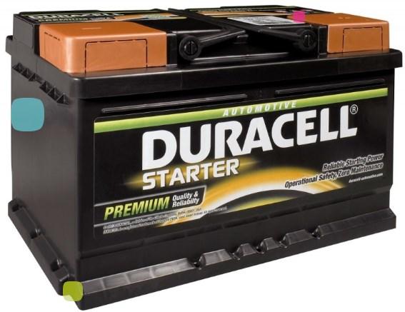 Аккумулятор Duracell DS 95 (010 595 33 0801)