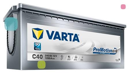 Аккумулятор Varta Promotive EFB C40 (740 500 120)