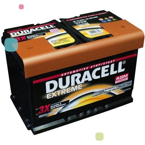 Аккумулятор Duracell DE 70 AGM (016 570 01 A801)