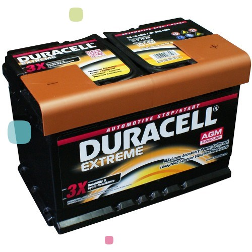 Аккумулятор Duracell DE 80 AGM (016 580 01 A801)