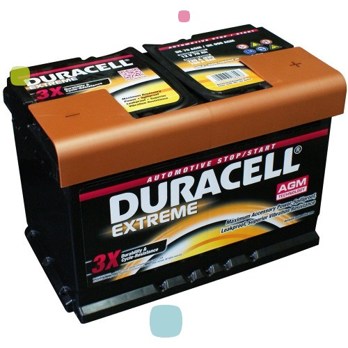 Аккумулятор Duracell DE 92 AGM (016 592 01 A801)
