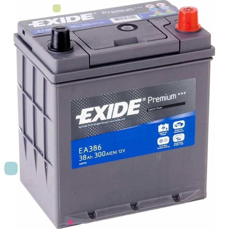 Аккумулятор Exide Premium EA386