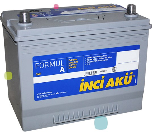 Аккумулятор Inci Aku FormulA (L1 044 036 013)