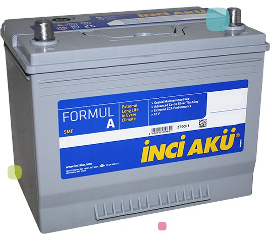 Аккумулятор Inci Aku FormulA (LB2 062 054 013)
